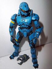 Halo 3 Collection **BLUE ROGUE SPARTAN** Figure 100% Complete w/ Weapon!!!