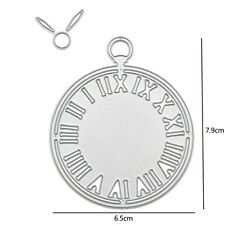 Metal Clock Shaped Cutting Dies Stencil For DIY Scrapbooking Album Paper Cards