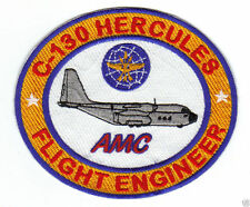 """C-130 HERCULES PATCH, FLIGHT ENGINEER, AIR MOBILITY COMMAND """"AMC""""              Y"""