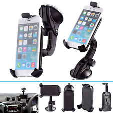 Car Rigid Multi-Surface PU Dash Mount + One Holder For Apple iPhone 6 6s 7 4.7