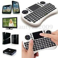 Mini White Wireless Keyboard 2.4G with Touchpad for Rii i8 PC Smart Android TV