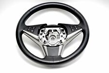 BMW E60 535i 550i LCI Black Leather Multi-Function Sport Steering Wheel #361