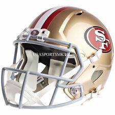 San Francisco 49ers Riddell Full Size Speed Replica Football Helmet