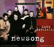 NEWSONG - All Around the World/ People Get Ready/ Love Revolution 3 CD SET!