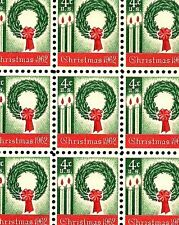 1962 - CHRISTMAS WREATH - #1205 Mint -MNH- Sheet