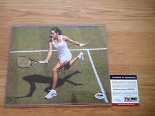 Ana Ivanovic Signed 8x10 Tennis Photo Autographed Auto Serbia PSA DNA COA a