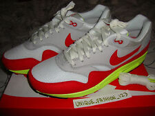 NIKE AIR MAX 1 PREMIUM QS DAY 3/26 US 11 UK 10 45 CAMO OG WHITE RED VOLT GREY