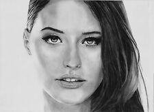 A3 professional custom pencil portrait from your photo