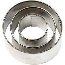 Mini Cutter Metal Cake Fondant Sugar Craft Jewellery Cookie Biscuit Round Circle