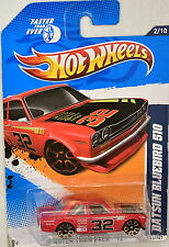 HOT WHEELS 2012 FASTER THAN EVER  DATSUN BLUEBIRD 510 RED