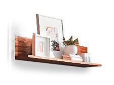 WHITNEY Wandregal Wandboard Regal Massivholz Holz Sheesham gebeizt Breite 130 cm