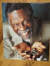 BILL RUSSELL #6 PSA/DNA CERTIFIED AUTHENTIC SIGNED AUTOGRAPHED 16X20 PHOTOGRAPH