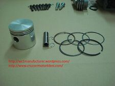 Piston set fits Cruzzer whizzer motorbike engines