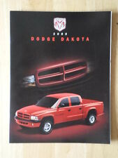 DODGE Dakota orig 2000 Canadian Mkt sales brochure