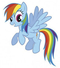 MY LITTLE PONY RAINBOW DASH wall stickers MURAL 19 decals horse room decor MLP
