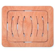 Pedana doccia di sicurezza antiscivolo 104 x 62 cm per piatto legno marino okumè