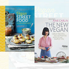 Vegan Street Food 2 Books Collection The New Vegan By Jackie Kearney,Áine Carlin