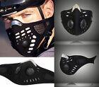 Cool Anti Dust Motorcycle Cycling Ski Atv Half Face Mask Filter Black