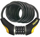 OnGuard 8032 Doberman 6' x 10mm Combination Bike Cable Lock Resettable Combo