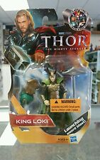 Hasbro Marvel Thor King Loki Sword Blast Movie Series #12 3.75in Action Figure