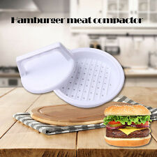 Hot Plastic Burger Press Hamburger Viande de boeuf Grill Cooking Maker Kitchen @