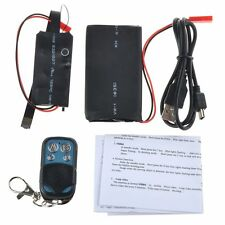 HD 1080P SPY Module Hidden Video Camera Motion Detection+Remote Control+3800mAh