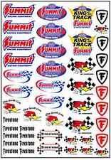 1/64, 1/87 - DECALS FOR HOT WHEELS, MATCHBOX, SLOT CAR: GASSER I