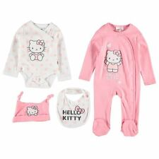 Sanrio Hello Kitty Set Kombination 4 tlg. Strampler Body Mütze Bandana Gr.56/62