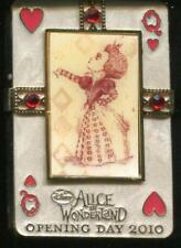 Alice in Wonderland Opening Day Queen of Hearts LE Disney Pin 75919