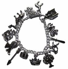 Chronicles of Narnia ( 12 Themed Charms) Assorted Metal Charm BRACELET