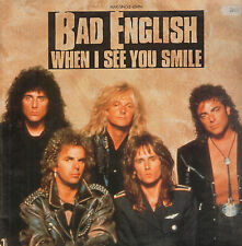 BAD ENGLISH - When I See You Smile - Epic