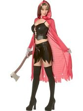 Rebel Toons Little Red Riding Hood Costume Small UK 8/10 - Ladies Fancy Dress