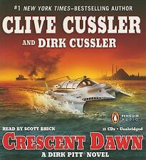 CRESCENT DAWN unabridged audio book on CD by CLIVE CUSSLER