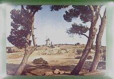 CPA France Fontvieille Moulin Windmill Windmühle Mollin Folklore Wiatrak w155