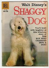 Dell Four Color #985 Walt Disney's SHAGGY DOG 1959 Annette Photo Back Cover