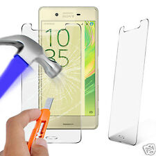 100% Genuine Tempered Glass Film Screen Protector for Sony Xperia X