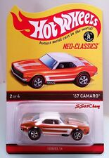 2017 Hot Wheels Red Line Club RLC '67 Camaro Neo-Classics Kar Keeper Sold Out