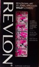Revlon By Marchesa Nail Art 3D Jewel Appliques ~ 04 Floral Fatale ~ NEW