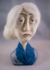 Abigail Art Doll bust OOAK handcrafted handmade One of a kind art