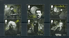 Jersey 2016 MNH Einstein Theory of General Relativity 6v Set Science Stamps