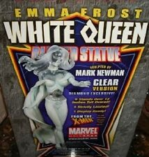 Emma Frost White Queen Diamond Exclusive Clear Statue X-Men NIB OOP  Randy Bowen