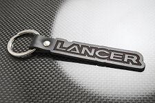 Mitsubishi LANCER Leather Keyring Schlüsselring Porte-clés Evolution Evo FQ MR X