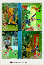 1994 UD World Cup U.S.A Trading Card Hotshot Hologram Card Full Set (10)-RARE