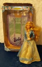 Sleeping Beauty Barbie with box Mattel dressed rose