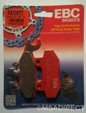 "Yamaha YZ125 (1989 to 1997) EBC ""TT"" FRONT Brake Pads (FA135TT) (1 Set)"