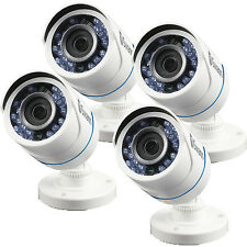 4 Pack Swann PRO-T845 720p Security Surveillance Camera Indoor Outdoor Day Night