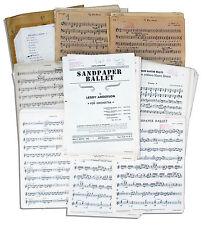 From Estate Captain Kangaroo 1959-1960 Tour Sheet Music