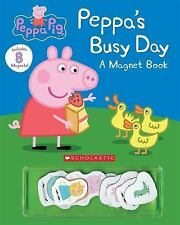 Peppa's Busy Day Magnet Book (Peppa Pig) (2016, Novelty Book)