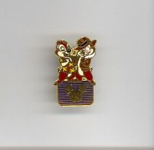 1990s Disney Afternoons Channel Chip & Dale Rescue Rangers on Logo Pin RARE