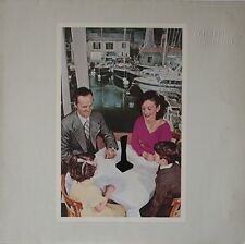 LED ZEPPELIN Presence 1976 Vinyl LP Embossed sleeve Excellent Condition